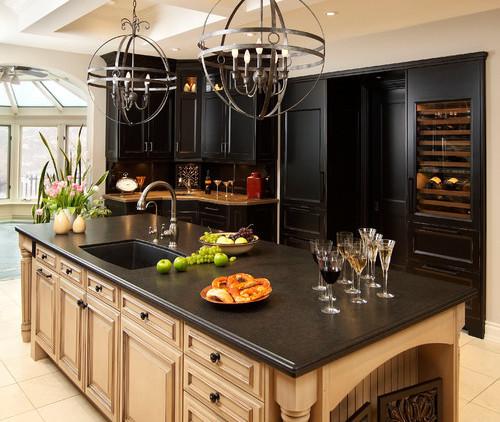 Take It For Granite: 9 Popular Black Granite Countertops