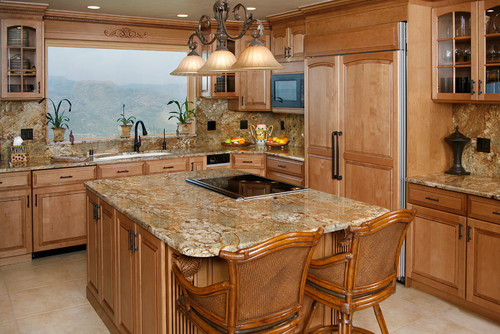 Granite Countertops Golden Crystal 1